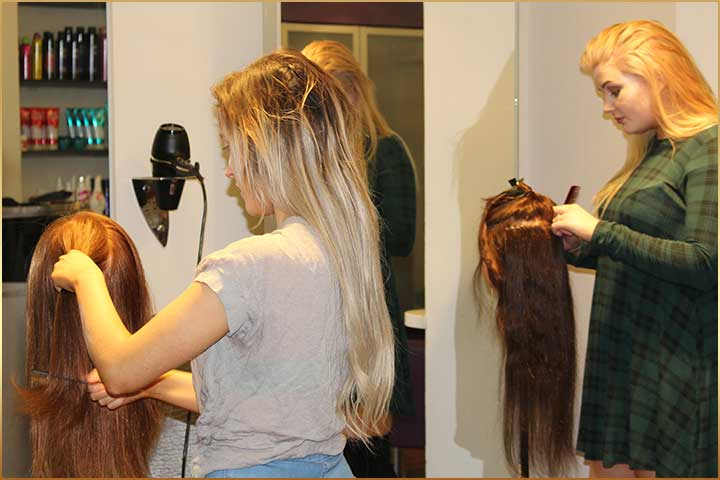 Hair Extension Training Courses Barnsley South Yourkshire Vip Hair
